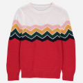 Sweter - ZIGZAG RED