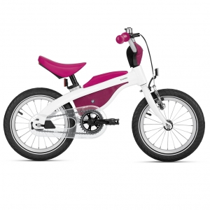 Rowerek 2w1 - BMW KIDSBIKE RASPBERRY RED/WHITE
