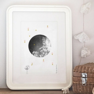 Plakat - THE MOON -50%