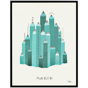 Plakat - CITY OF LEAD -30%