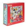 Puzzle 36elem. - I WANT TO BE A FIREMAN