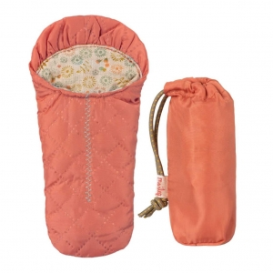 Śpiwór 16cm - SLEEPING BAG PEACH (small mouse)