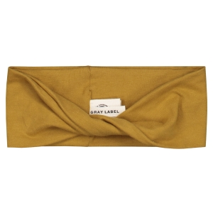 Opaska - MINI (0-4) TWIST HEADBAND MUSTARD