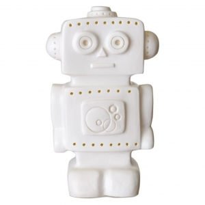 Lampka LED - ROBOT WHITE