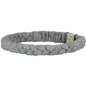 Opaska - BRAID HEADBAND GREY MELANGE