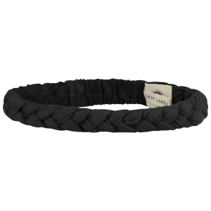 Opaska - BRAID HEADBAND NEARLY BLACK