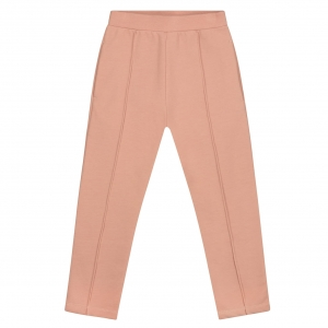 Spodnie - SLIM FIT TROUSERS RUSTIC CLAY