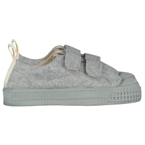 Trampki GL&NOVESTA - LOW TOP VELCRO GREY MELANGE