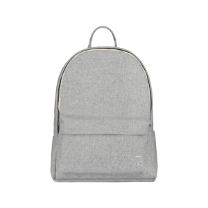 Plecak - FELT BACKPACK GREY MELANGE SMALL