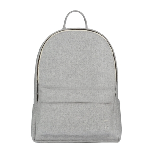 Plecak - FELT BACKPACK GREY MELANGE LARGE