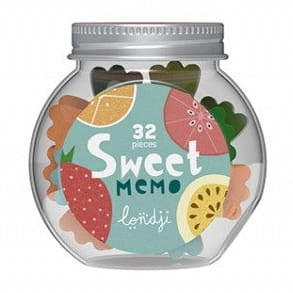 Mini memo w słoiczku - SWEET
