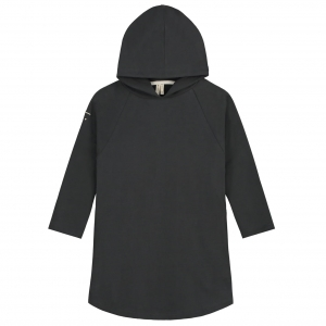 Sukienka z kapturem - HOODED NEARLY BLACK