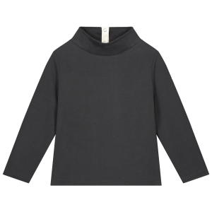 Półgolf - HIGH NECK SWEATER NEARLY BLACK