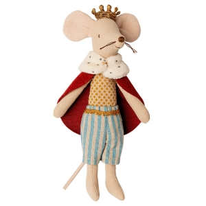 Myszka król 15cm - KING FATHER MOUSE