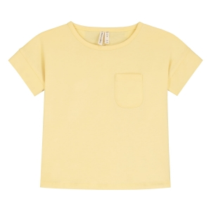 T-shirt - BOXY TEE MELLOW YELLOW