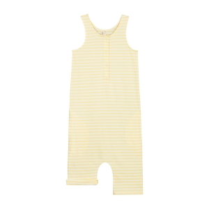 Rampers - TANK SUIT MELLOW YELLOW/OFF WHITE