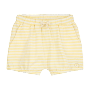 Szorty - PUFFY SHORTS MELLOW YELLOW/OFF WHITE