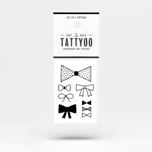 Tatuaże - BLACK BOW TIES