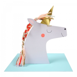 Kartka 3D - UNICORN