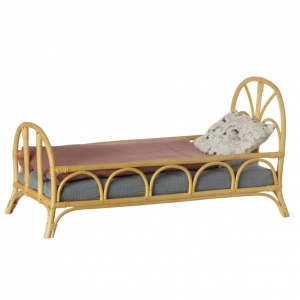 Łóżko rattanowe 24cm - BED RATTAN MEDIUM