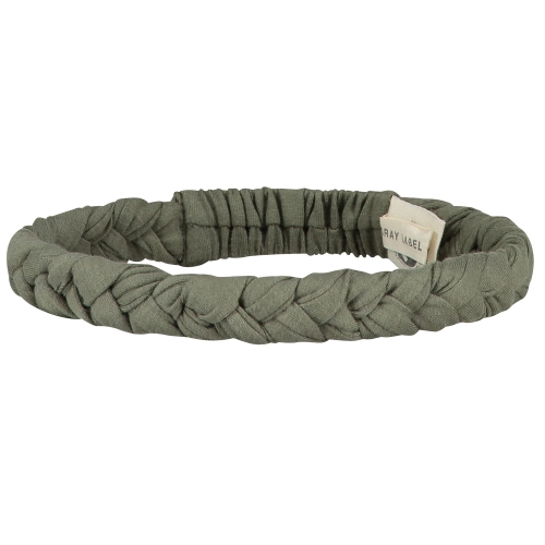 Opaska - BRAID HEADBAND MOSS