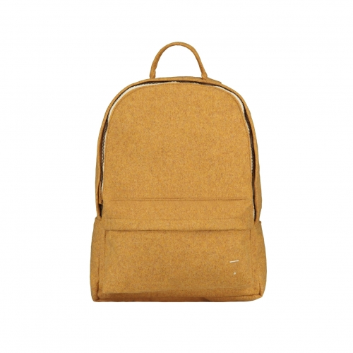 Plecak - FELT BACKPACK MUSTARD SMALL