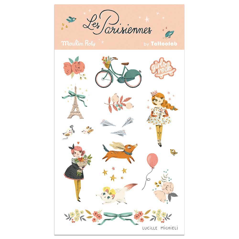 Tatuaże Paryż Les Parisiennes